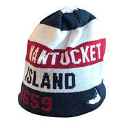 Nantucket Reversible Stripe Knit Hat