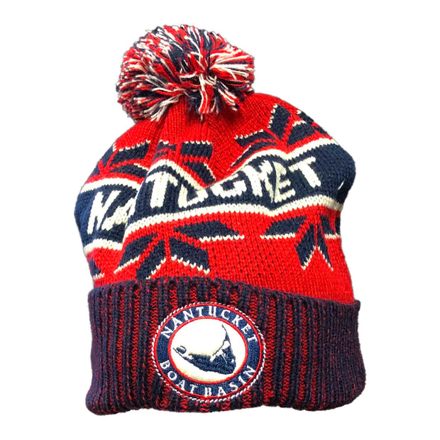 NBB Ahead Fleece Knit Beanie