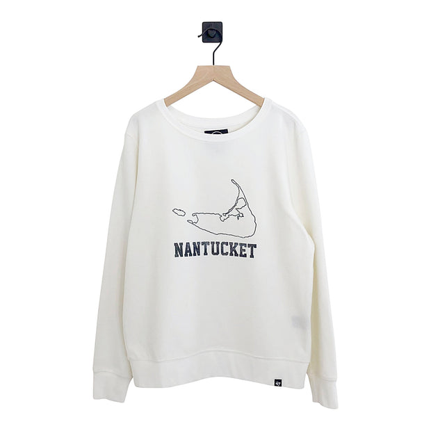 Nantucket Encore Throwback Fleece Crew Womens