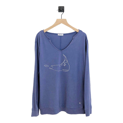 Nantucket Gamma Long Sleeve Tee Womens