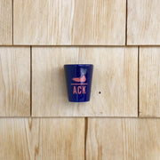 ACK Nantucket Ceramic Shot Glass