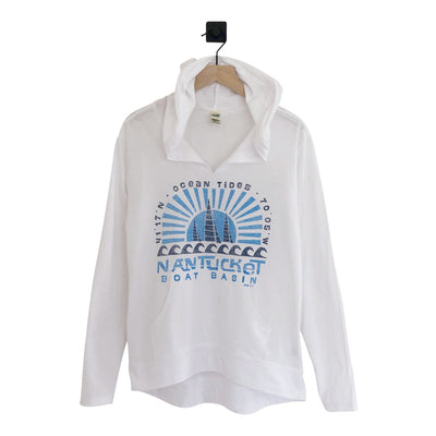 Nantucket Sunburst Sails Hi-Lo Hood Womens