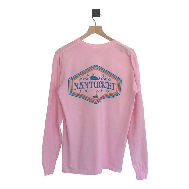 Nantucket Spectral Whale Long sleeve Tee