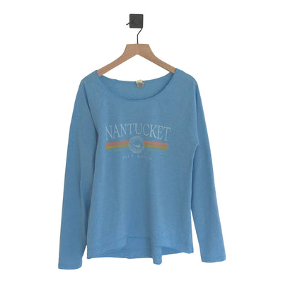 Nantucket Tri-Band Hi/Low Jersey Womens LS