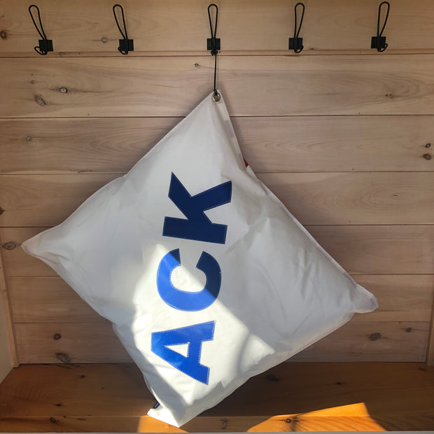 ACK Oversized Sail Pillow 30x30