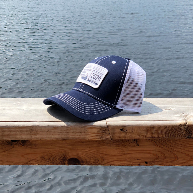 Nantucket Beach Permit 2020 Mesh Trucker Hat
