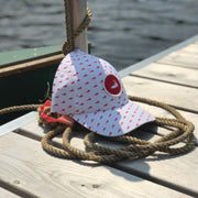 Nantucket Island Lobster Pattern Performance Hat