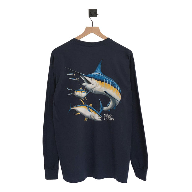 Pelagic Marlin/Tuna LS Tee