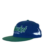 Nantucket Retro Script and Island Snapback