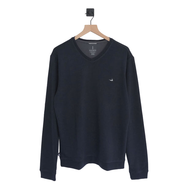 Nantucket Bromley Knit V-Neck LS
