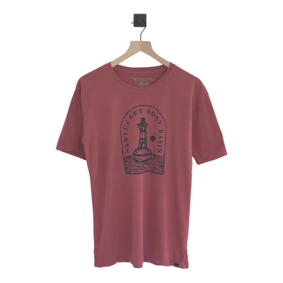 Nantucket Boat Basin Buoy Legend SS Tee