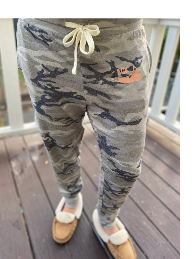 Nantucket Ladies Camo Jogger Pant