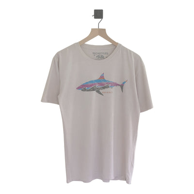Nantucket Swiffer Stripe Shark SS Tee