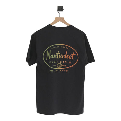 Nantucket Boat Basin Oval Rasta Blend SS Tee