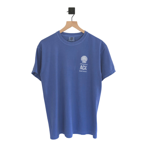 Nantucket Scallop Shell ACK Pigment SS T-Shirt