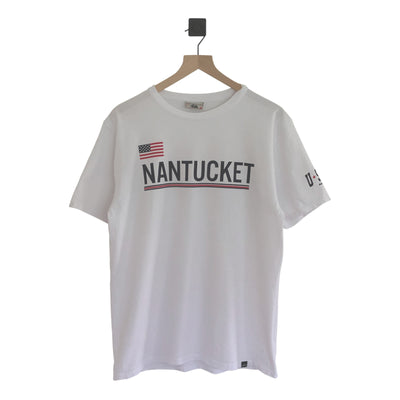 Nantucket Stripe Explorer SS Tee