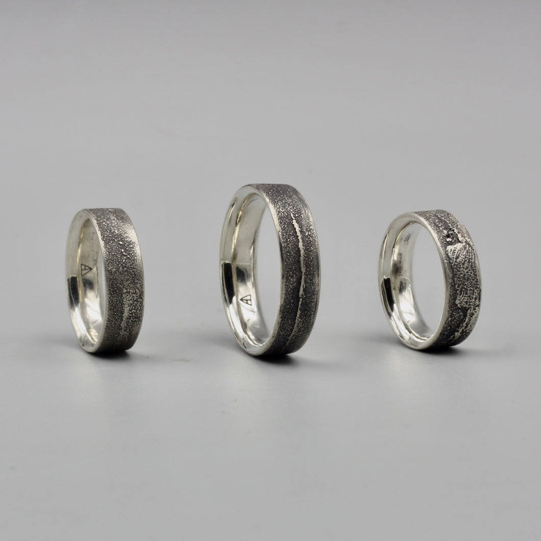 #1165 Trout Roe Ring, Size 7