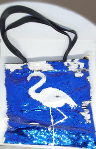 Reversible Sequins Bag