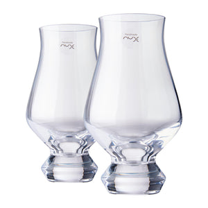 """Nude"" Island Whisky glasses from Fieldcrest - 1 Box with 2 Glasses"