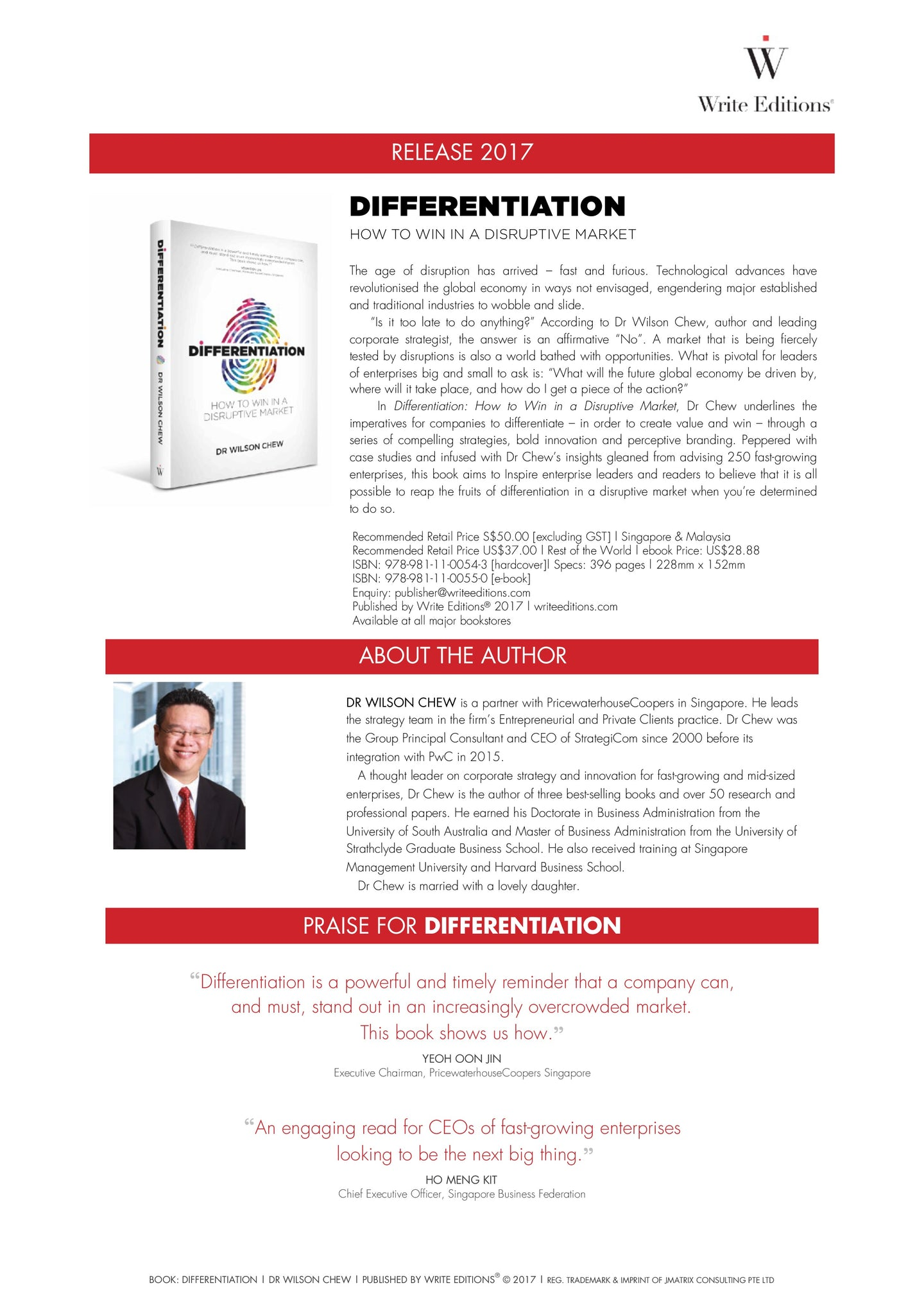 Differentiation: How To Win In A Disruptive Market
