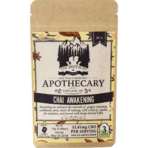 The Brothers Apothecary – Chai Awakening – 180mg