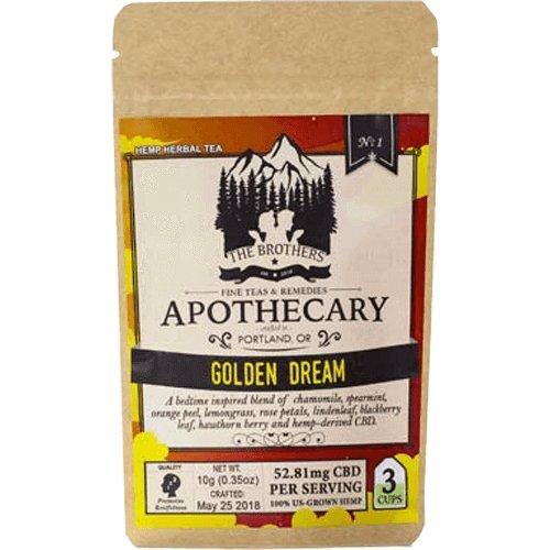 The Brothers Apothecary – Golden Dream – 180mg