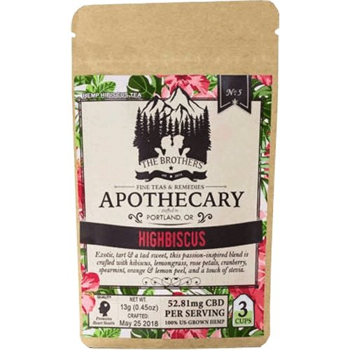 The Brothers Apothecary – Highbiscus – 180mg