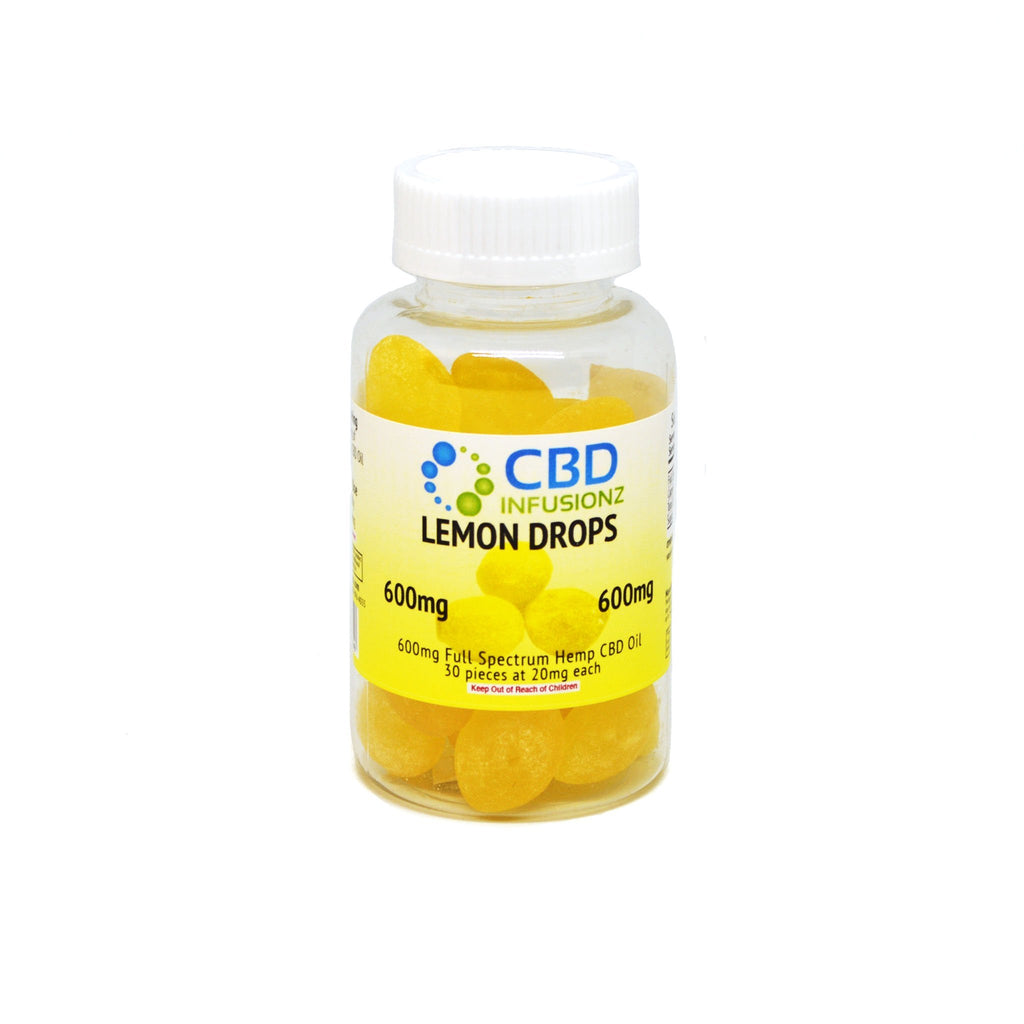 Lemon Drop Hard Candy (200mg / 600mg)