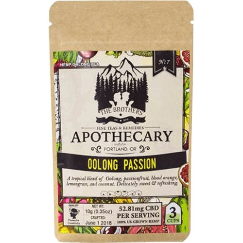 The Brothers Apothecary – Oolong Passion – 180mg