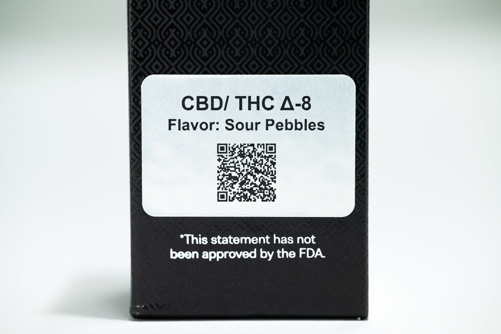 CBD / THC Delta-8 Vape Cartridges (670mg)