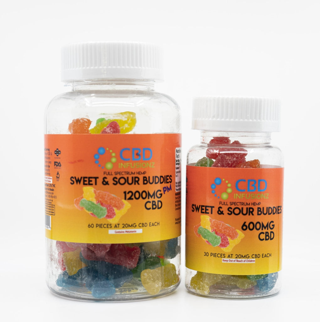 Sweet & Sour CBD Buddies