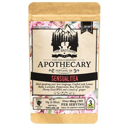 The Brothers Apothecary – Sensualitea – Hemp CBD Tea