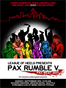 PAX Rumble V Poster