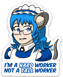 Mousemaid Sticker