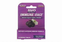 Zand Immune Fast Sweet Elderberry 15ct