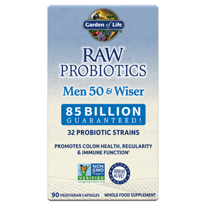 Garden of Life Raw Probiotics Men Cooler 50 & Wiser 90 Capsules