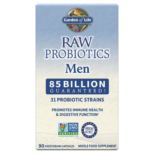 Garden of Life Raw Probiotics Men Cooler 90 Capsules