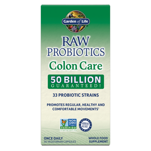 Garden of Life Raw Probiotics Colon Care Cooler 30 Capsules
