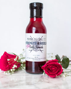 Mama Merrils Elderberry Strength & Shield Daily Formula-Hibiscus Lemon