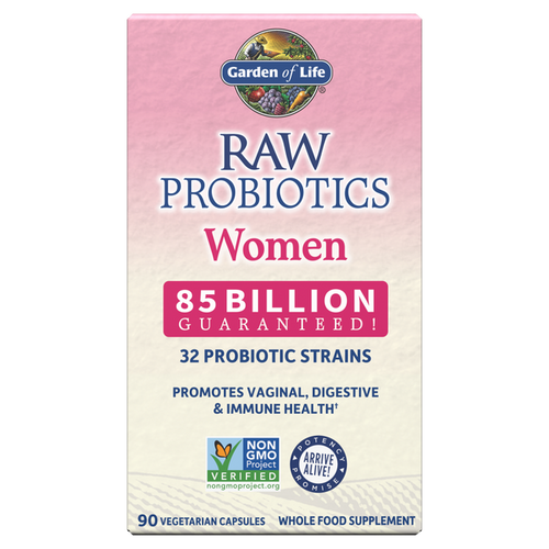 Garden of Life Raw Probiotics Women Cooler 90 Capsules