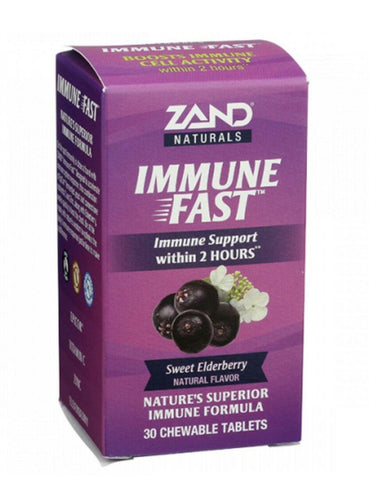 Zand Immune Fast Sweet Elderberry