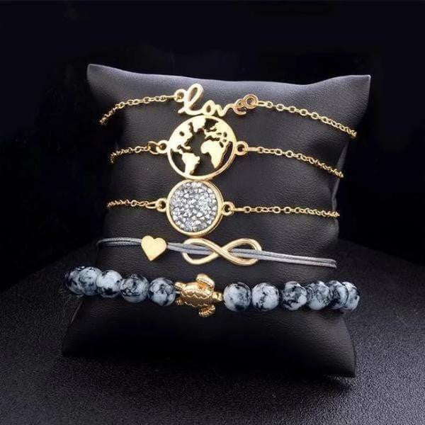 Set love bracelet-Joya Jewelry