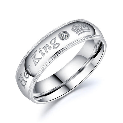 Custom Engrave Couple Rings-Joya Jewelry