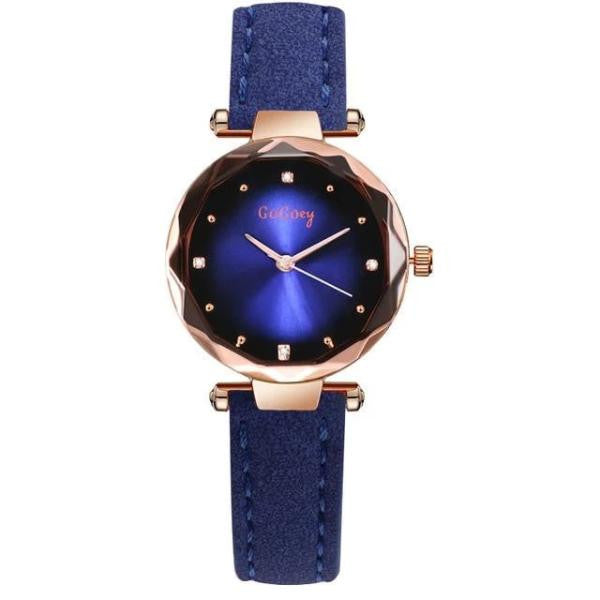 Elegant Quartz Wristwatch-Joya Jewelry