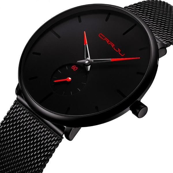 The Black Wrist Watch-Joya Jewelry