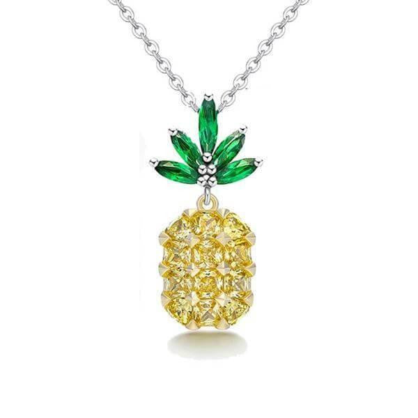 Classic pineapple necklace