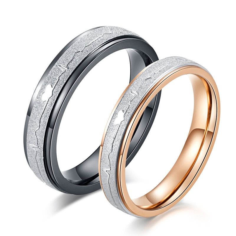 Bands Couple Rings-Joya Jewelry