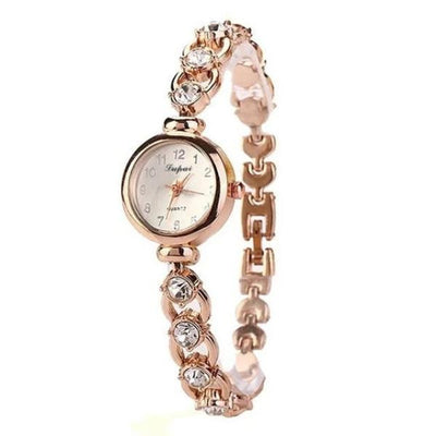 Vintage style analogue watch-Joya Jewelry