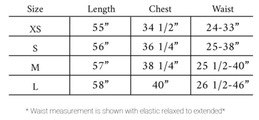 Gia size guide