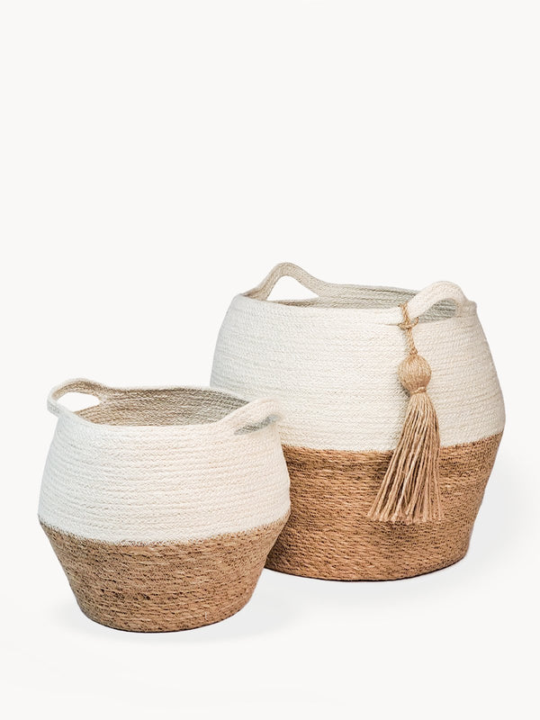 Agora Jar Basket - Natural - ourCommonplace